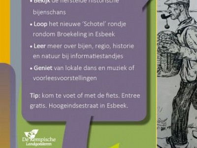 Opening historische bijenschans Broekeling